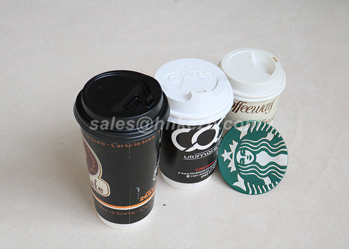 8 / 12 / 16oz Disposable Custom Disposable Coffee Cups Biodegradable For Wedding Party
