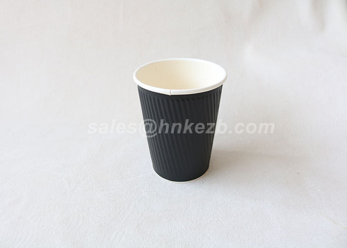 Printed Custom Logo Hot Drink Paper Cups 12oz Disposable Paper Cups For Drinking