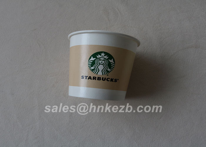 90mm Height Disposable Double Wall Paper Cup 8oz Ice Cream Paper Cup Leak Proof